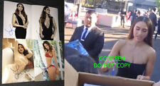 Lindsey Morgan signed 8x10 photo proof The 100 Raven sexy hot babe body cute