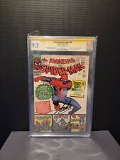AMAZING SPIDER-MAN # 38 CGC 9.2 SS Signed Stan Lee High Grade Signed, only 3!