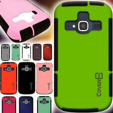 Slim Protective Hybrid Armor Design Phone Cover Case for ZTE Concord 2 II