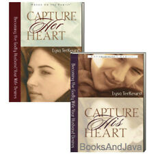 Capture His Heart & Capture Her Heart (pb) Lysa TerKeurst - healthy marriage NEW