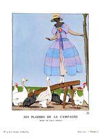 Vintage Fashion: Bon Ton - Les Plaisirs de la Campagne - Marty - 1921