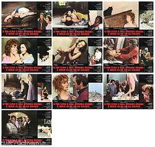 IL TUO VIZIO E' UNA STANZA CHIUSA E SOLO... FOTOBUSTA 10 PZ. FENECH HORROR 1972