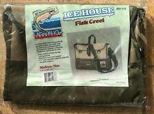 Arapaho Ice House Fish Creel Bag Shoulder Strap Canvas Medium 14x10x5 Arf-670