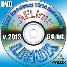 CAELinux 64-bit Complete Installation DVD version 2013