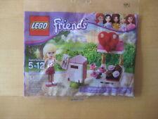 NEW Lego Friends 30105 Stephanie Mailbox Chocolate Stand  *VALENTINE DAY*