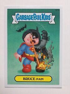 Garbage Pail Kids 2014 Series 2 Topps Sticker 131b Bruce Pain Batman Superman