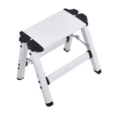 Folding Mini 2 Step Ladder Aluminum Step Stool  200lbs Capacity