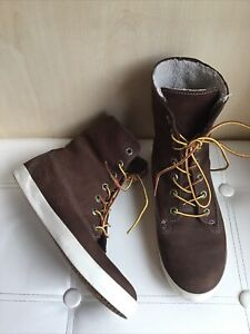 Timberland Glastenbury Earthkeepers Fold Down Boots Size UK 5.5 EUR 38.5