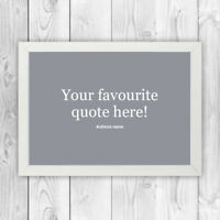 Personalised print / Inspirational quote Christmas present / multi-designs M002
