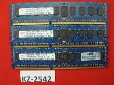 Hynix 6gb 3x2gb ddr3-1333 pc3-10600r ECC reg hmt125r7bfr8c-h9 t7 AA-C #kz-2542