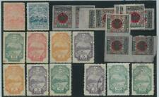 78372  - ALBANIA  -  STAMP:   Small lot of  LOCAL &  PATRIOTIC stamps