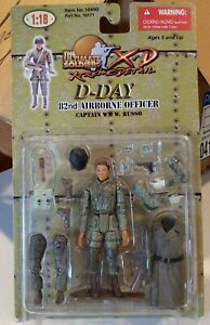 Ultimate Soldier 1/18 xd WWII US D-Day   82nd Airborne Officer 21st century