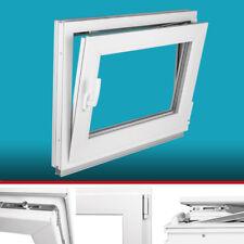 Kellerfenster - 2 Fach, BxH 65x45 cm & 650x450 mm, DIN rechts, Beidseitig Weiß