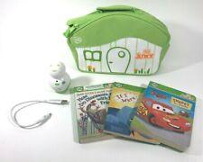 Leapfrog Tag Junior Lot 3 Books Case & Reader Device Disney Pixar Cars