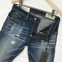 ⭐ Diesel Thommer stretch Slim-skinny denim jeans Italy wash 0092I size W31 L30