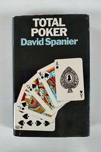 Total Poker by David Spanier (Hardback, 1977)