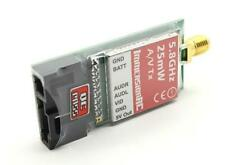 FPV Racing 25mW 5.8GHz 3g Sender Video AV RC Transmitter 32,3x15,2x4,5mm    K251