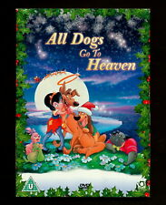 All Dogs Go to Heaven  (DVD, 1991)  (REGION 2 not for USA)