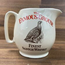 """The Famous Grouse Scotch Whisky Water Jug by Wade PDM Made In England 4.5"""""""