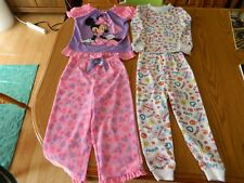 Girls 3T - Two Pair of Pajamas - Disney Minnie Mouse & Kidgets - VGUC