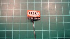 Flexa verf pin badge 60s 60's original lapel Dutch speldje