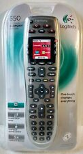 Logitech Harmony 650 One Touch Universal Remote Control Black Gray Color Screen