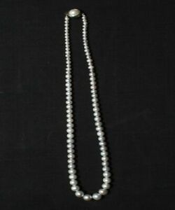 18  Inches 5 mm 100% South Sea Pearl Necklace for Anniversary