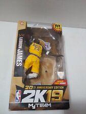 NBA 2k19 McFarlane LeBron James Lakers My Team Figure MAY HAVE BOX DAMAGE