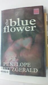 THE BLUE FLOWER Penelope Fitzgerald LARGE PRINT Edition Hardcover BOOK
