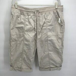 Style & Co. 18W Shorts Skimmer Stone Women's Plus Size Short New
