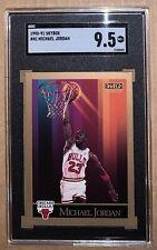 1990-91 Skybox Michael Jordan SGC 9.5 PSA 10 Bulls MINT!!!!!!! Just graded!