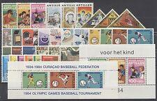 NEDERLANDSE ANTILLEN - JAARGANG 1984 - POSTFRIS COMPLEET