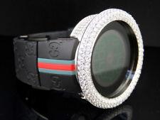 Men's Techno Art Joe Rodeo Bling Master White Simulated Diamond Designer Watch