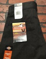 Dickies Regular Fit Straight Leg Dark Gray Work Pants Young Men Size 29 x 30 NWT