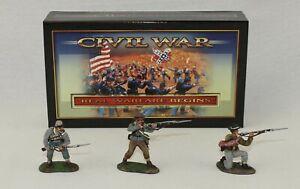 Conte American Civil War 57102 Confederate Infantry Set