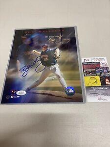 Roy Halladay Toronto Blue Jays Autographed 8x10 Photo JSA