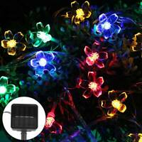 50LED Solar String Fairy Lights Garden Outdoor Party Wedding Xmas Tree lamp