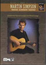 Martin Simpson Teaches Alternate Tunings Guitar DVD