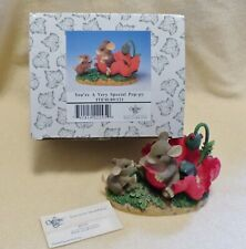 Charming Tails figurine, You're a Very Special Pop-py, mouse figurine, vintage