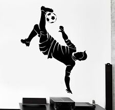Wall Stickers Sport Soccer Football Player Europe Vinyl Decals (z3008)