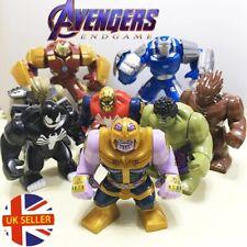 Avengers Mini Figure Thanos Iron Man Spider-Man Hulk Venom Groot UK Seller