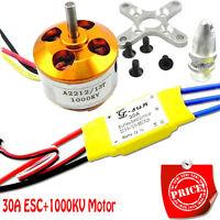 30A controller ESC+1000KV Brushless Motor A2212 for 4 Axis Multi Quadcopter I