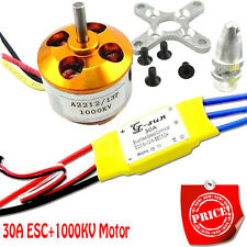 30A controller ESC+1000KV Brushless Motor A2212 for 4 Axis Multi Quadcopter I