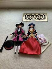GEORGE WASHINGTON AND PATRIOT SPECIAL EDITION BARBIE DOLLS PRISTINE MINT!