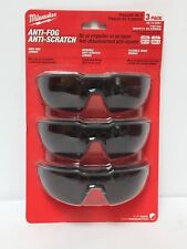 Milwaukee 48-73-2051 3-Pc. Tinted Safety Glasses New