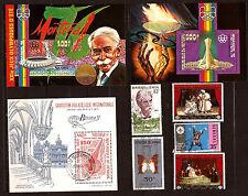 SENEGAL  blocs et timbres oblit.Art négre,XXIe J.O d'été,théatre et divers  C119