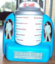 Elvis Jukebox Ceramic Salt & Pepper Shakers by Avon – Brand New