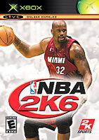 NBA 2K6 (Microsoft Xbox, 2005) DISC ONLY