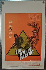 The Trygon Factor Original Window Card Movie Poster 1968  14 x 22