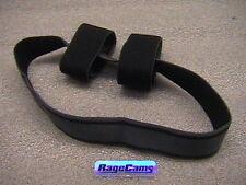 ELASTIC SKULL STRAP CAMERA HEADBAND Hook & Loop Head Band Contour Contourroam HD